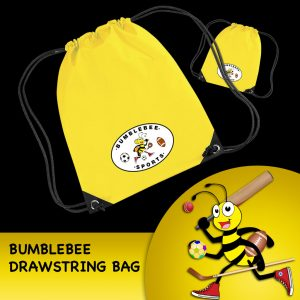 Bumblebee Drawstring Bag