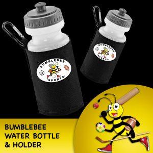 Bumblebee Water Bottle & Holder